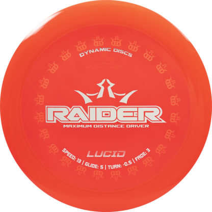 Lucid Raider - Red with White stamp