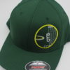 Flexfit Curved Bill Hat - green - green - s-m - yellow - 3044 - 3045