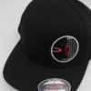 Mesh Curved Bill Snapback - black - l-xl - black - black - red - white - silver