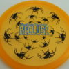 Recluse - Pinnacle - First Run - orange - black - blue - 175g - super-flat - neutral