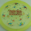 Recluse - Pinnacle - First Run - light-yellow - camo-red-green-blue - red-lines - 175g - super-flat - neutral