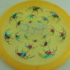 Recluse - Pinnacle - First Run - blend-yelloworange - camo-red-green-blue - silver-dots-mini - 175g - super-flat - neutral