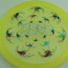 Recluse - Pinnacle - First Run - yellow - camo-red-green-blue - silver-dots-mini - 175g - super-flat - neutral