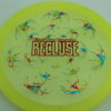 Recluse - Pinnacle - First Run - yellow - camo-red-green-blue - red-lines - 175g - super-flat - neutral