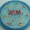 Recluse - Pinnacle - First Run - blue - camo-red-green-blue - red-lines - 174g - super-flat - neutral