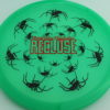 Recluse - Pinnacle - First Run - green - black - red-lines - 174g - super-flat - neutral