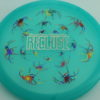 Recluse - Pinnacle - First Run - light-blue - acid-party-time-circles - silver - 175g - super-flat - neutral