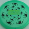 Recluse - Pinnacle - First Run - green - black - green-laser - 174g - super-flat - neutral