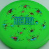 Recluse - Pinnacle - First Run - green - camo-red-green-blue - blue - 174g - super-flat - neutral