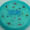 Recluse - Pinnacle - First Run - blue - camo-red-green-blue - blue - 175g - super-flat - neutral
