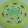 Recluse - Pinnacle - First Run - light-yellow - acid-party-time-circles - light-blue - 174g - super-flat - neutral