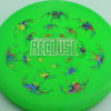 Recluse - Pinnacle - First Run - green - acid-party-time-circles - silver - 175g - super-flat - neutral