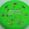 Recluse - Pinnacle - First Run - green - acid-party-time-circles - silver - 174g - super-flat - neutral