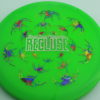 Recluse - Pinnacle - First Run - green - acid-party-time-circles - silver - 173g - super-flat - neutral
