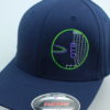 Flexfit Curved Bill Hat - navy - navy-blue - l-xl - green - purple - grey