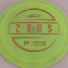 Zeus - Paul McBeth - First Run - gold-lines - 170-172g - somewhat-domey - neutral
