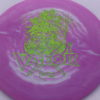 Valor - Icon - First Run - green-lines - 180g - slight-dome-to-a-puddle-top-center - neutral