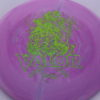 Valor - Icon - First Run - green-lines - 179g - 3311 - slight-dome-to-a-puddle-top-center - neutral