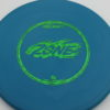 Zone - blue - d-line - green-fracture - 304 - 173-175g - 3311 - super-flat - pretty-stiff