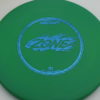 Zone - green - d-line - blue-fracture - 304 - 173-175g - 3311 - super-flat - pretty-stiff