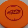 Zone - orange - d-line - red - 304 - 173-175g - 3311 - somewhat-puddle-top - pretty-stiff