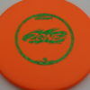 Zone - orange - d-line - green-fracture - 304 - 173-175g - 3311 - super-flat - pretty-stiff
