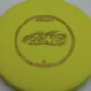 Zone - yellow - d-line - oil-slick-gold - 304 - 173-175g - 3311 - super-flat - pretty-stiff