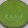 PA1 - 400 Spectrum - Seppo Paju - green - 174g - 3311 - super-flat - pretty-gummy