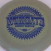 Wombat3 - Swirly Star - Garrett Gurthie - blue - 180g - somewhat-flat - neutral