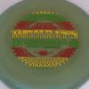 Wombat3 - Swirly Star - Garrett Gurthie - rainbow-rasta - 180g - somewhat-flat - neutral