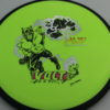 Volt - Fission - SE - Skulboy - yellowgreen - black - silver - black - rainbow - 157g - neutral - somewhat-stiff