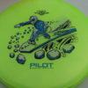 Pilot - Proton - Special Edition - yellowgreen - black - silver - blue - 175g - super-flat - neutral