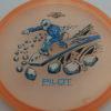 Pilot - Proton - Special Edition - peach - black - silver - blue - 173g - super-flat - somewhat-stiff
