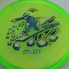 Pilot - Proton - Special Edition - yellowgreen - black - silver - blue - 173g - somewhat-puddle-top - neutral