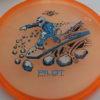 Pilot - Proton - Special Edition - light-orange - black - silver - blue - 173g - somewhat-puddle-top - neutral