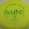 Saint - yellow - opto - green - 169g - somewhat-domey - neutral
