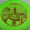 Rift - green - proline - red - 175-176g - somewhat-flat - neutral
