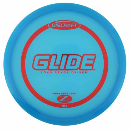 Discraft Glide - Blue with Red foil stamp