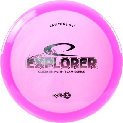 Opto-X Explorer - Pink with Teal foil