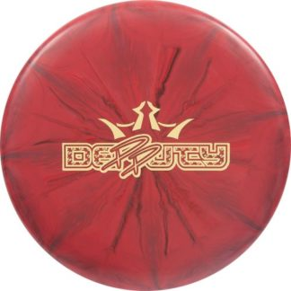 Paige Pierce 5x Deputy - Red/Black burst with gold foil stamp