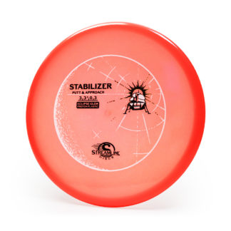 Streamline Discs Eclipse Stabilizer with 3 foil stamp and gorgeous glow plastic.