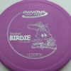 Birdie - purple - dx - silver - 175g - pretty-flat - neutral