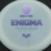 Enigma - white - light-purple - 169g - 3311 - somewhat-flat - neutral