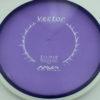 Vector - purple - white - eclipse-proton - white - 174g - 3311 - somewhat-domey - somewhat-stiff