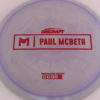 Anax - Paul McBeth Prototype - red - 175-176g - 176-1g - somewhat-domey - neutral