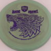 PD - Swirly S Line - Colten Montgomery Lone Howl - purple - 175g - 175-4g - somewhat-flat - neutral