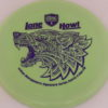 PD - Swirly S Line - Colten Montgomery Lone Howl - purple - 175g - 177-5g - somewhat-flat - neutral