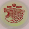 PD - Swirly S Line - Colten Montgomery Lone Howl - red - 175g - 175-4g - somewhat-flat - neutral