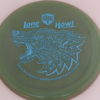 PD - Swirly S Line - Colten Montgomery Lone Howl - light-blue - 175g - 175-9g - somewhat-flat - neutral