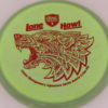 PD - Swirly S Line - Colten Montgomery Lone Howl - red - 175g - 175-3g - somewhat-flat - neutral